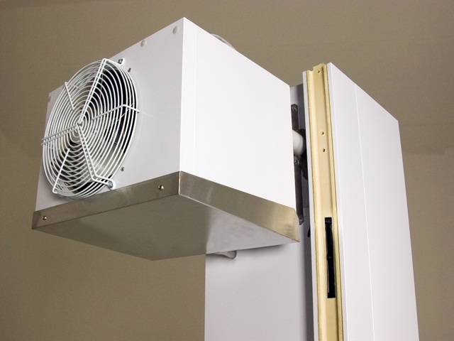 Panel system cooling units
